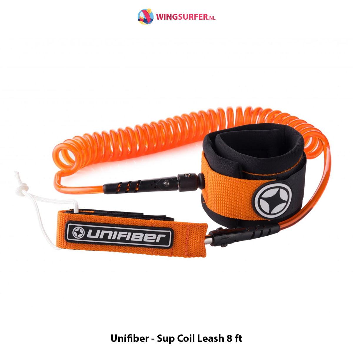 Unifiber - Sup Coil Leash 8 ft
