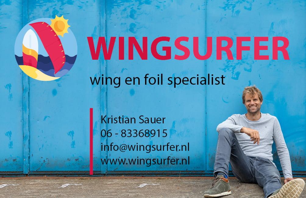 Wingsurfer Kristian