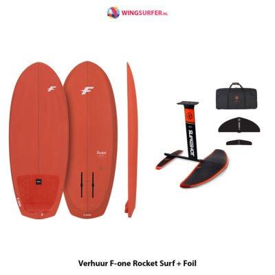 verhuur surfboard met foil