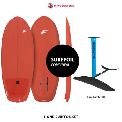 Complete surffoil set